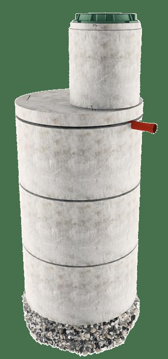 Септик из бетонных колец в Волоколамском районе